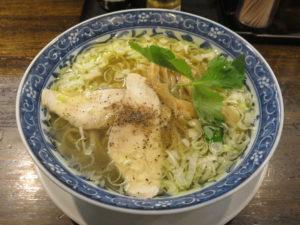 鶏そば(塩)@鶏そば・つけそば ごろいち:ビジュアル