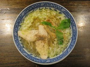 鶏そば(塩)@鶏そば・つけそば ごろいち:ビジュアル:トップ