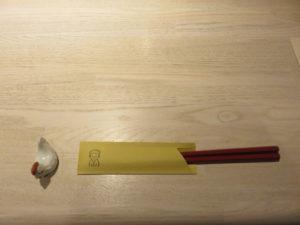 鴨と松茸の中華そば@やきとり 児玉:卓上