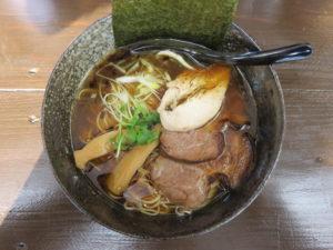 ら~めん(醤油)@環2の麺処 あさ川:ビジュアル:トップ