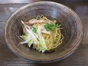 ら~めん(醤油)@環2の麺処 あさ川:和え麺