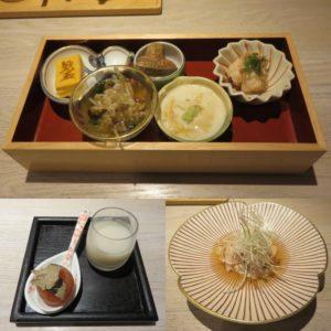 鴨と松茸の中華そば@やきとり 児玉:コース1