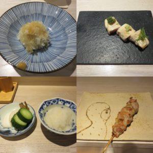 鴨と松茸の中華そば@やきとり 児玉:コース2