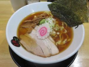 醤油ラーメン@麺菜Regame:ビジュアル