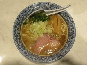鶏魚介ラーメン@つけ麺 一燈:ビジュアル:トップ