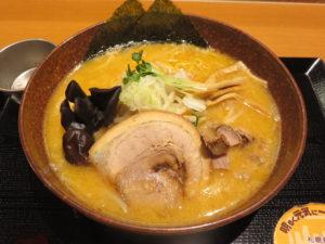 味噌ラーメン@札幌麺処 白樺山荘 横浜店:ビジュアル