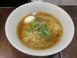 パーコー湯麺(白い味玉)@広東麺 チャーリー:ビジュアル