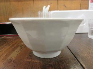 パーコー湯麺(白い味玉)@広東麺 チャーリー:ビジュアル:サイド