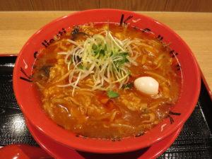辛味噌サンマー麺@K's collection 辛味噌サンマー麺:ビジュアル