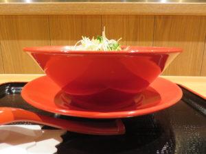辛味噌サンマー麺@K's collection 辛味噌サンマー麺:ビジュアル:サイド