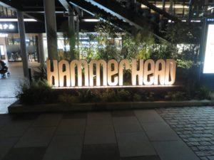 辛味噌サンマー麺@K's collection 辛味噌サンマー麺:横浜ハンマーヘッド:ロゴ