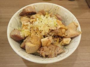 鶏塩そば@中華そば ムタヒロ 拝島駅店:チャーシュー丼