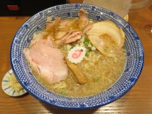 にぼし醤油ラーメン@二代目 にぼ助 池袋店:ビジュアル