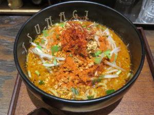 辛味噌ラーメン(2辛)@恵比寿らぁ麺屋 つなぎ 中野店:ビジュアル