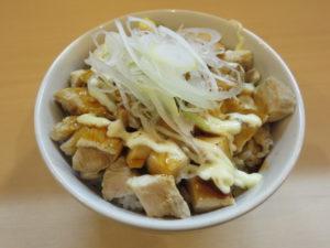 醤油鶏そば@鶏そばムタヒロ 花小金井店:鶏マヨ丼