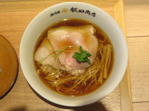 醤油らぁ麺@湯河原 飯田商店:ビジュアル:トップ