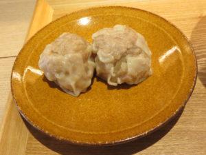 醤油らぁ麺@湯河原 飯田商店:プレミアムしゅうまい