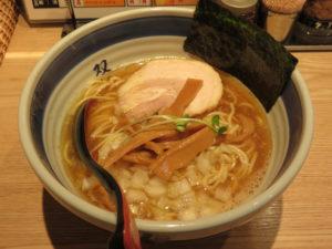 双麺らーめん(醤油)@双麺 浅草橋店:ビジュアル
