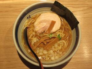双麺らーめん(醤油)@双麺 浅草橋店:ビジュアル:トップ