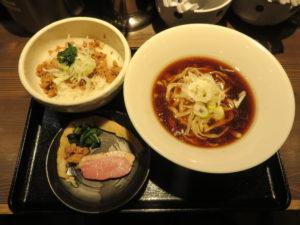 鴨出汁醤油そば@鴨出汁中華蕎麦 麺屋yoshiki:ビジュアル:全体