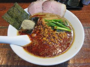 煮干豚担々麺@らーめん くぼ鷹:ビジュアル