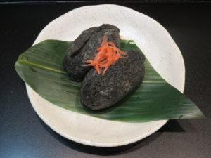 中華蕎麦@中華蕎麦 きつね:稲荷寿司