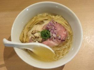 鯛そば(塩)@鶏そば鯛そば 久松:ビジュアル:トップ