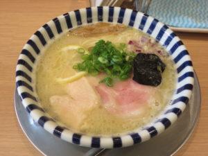 濃厚鯛塩ラーメン@ねいろ屋 豊洲店:ビジュアル