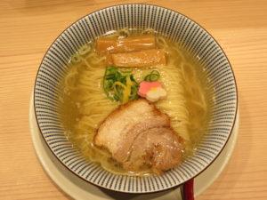 鯛塩らぁ麺@鯛塩そば 灯花 ペリエ千葉店:ビジュアル:トップ