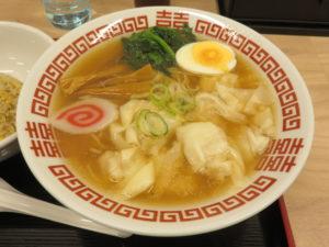 ワンタン麺@中華そば 神寄 巣鴨地蔵通店:ビジュアル
