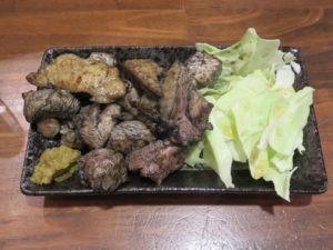 らぁ麺 醤油@だれやめや:炭火焼き(特上MIX)S