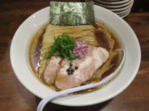 らぁ麺 醤油@だれやめや:ビジュアル