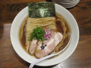 らぁ麺 醤油@だれやめや:ビジュアル:トップ