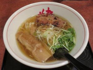 淡麗醤油らーめん@麺や 藏人 北千住店:ビジュアル