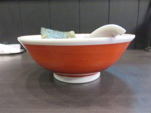 醤油@中華麺きなり:ビジュアル:サイド