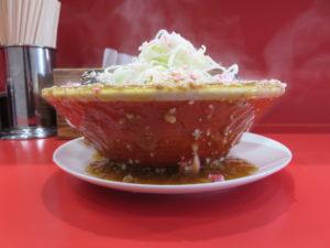 麻婆麺@ラーメンししょう:ビジュアル:サイド