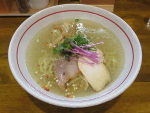 塩らー麺@麺屋 ぬまた:ビジュアル