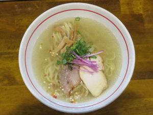 塩らー麺@麺屋 ぬまた:ビジュアル:トップ