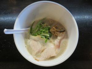 濃厚 鶏SOBA 塩@麺屋號tetu:ビジュアル:トップ