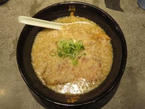 油滴ら~麺<醤油>@麺屋武蔵 武滴:ビジュアル:トップ