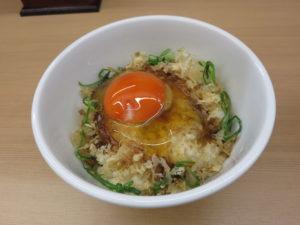 醤油らぁ麺@麺や三樹三郎:TKG