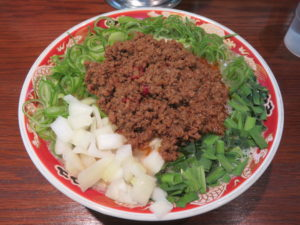 濃厚ラーメン 辛(太麺・大盛):ビジュアル
