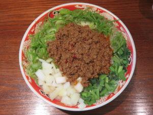 濃厚ラーメン 辛(太麺・大盛):ビジュアル:トップ