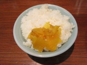 濃厚ラーメン 辛(太麺・大盛):ごはん