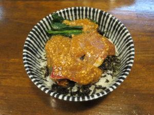 貝節醤油そば@CLAM&BONITO貝節麺RAIK:本日のきまぐれ丼(あえてイナダ)