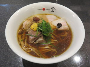 SUKIYAKI醤油Soba@Japanese Soba Noodles 蔦:ビジュアル