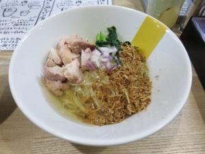 冷やし油そば@塩生姜らー麺専門店 MANNISH 2号店:ビジュアル