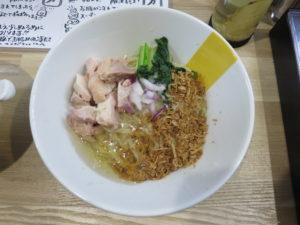 冷やし油そば@塩生姜らー麺専門店 MANNISH 2号店:ビジュアル:トップ