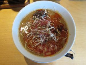 咖喱担々麺@四川担々麺 赤い鯨 人形町店:ビジュアル:トップ