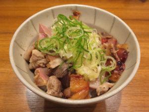 香彩鶏だし塩らーめん@麺屋 翔 御徒町店:ネギ塩チャーシュー丼